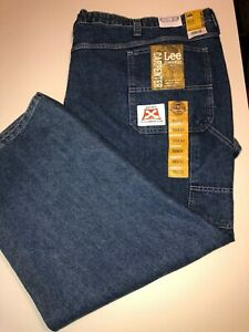 Lee Dungarees Men's Carpenter Jeans With Custom Fit Waistband Size W58 X L30
