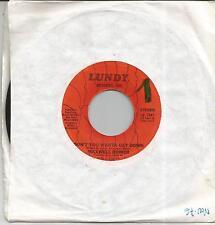 MAXWELL ROMER Don't you wanta get down US SINGLE LUNDY 1978