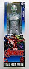 "Marvel Avengers ULTRON Titan Hero Series NIB Comic Action Figures 12"" Green Eyes"