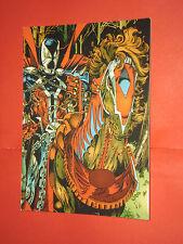 CARTOLINA PUBBLICITARIA-SPAWN n°1 riferimento al libro spawn-tiratura limitata