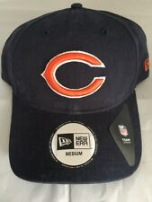 Nfl Chicago Bears Navy Core Fit New Era Fitted Hat Adult Sizes Medium Large