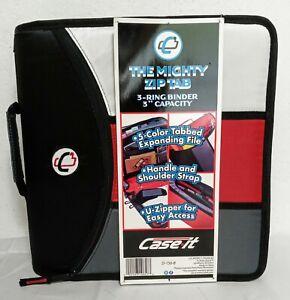 "The Mighty Zip Tab 3-Ring Binder 3"" Capacity"
