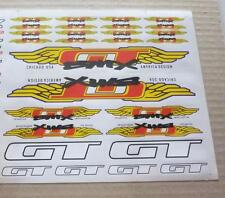 NOS GT wing America Design decals sticker BMX old school