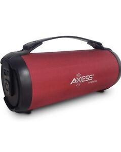 Axess1053 Clear Sound Bluetooth Speaker W/ TWS Func. & USB,SD,FM Radio,Aux Input