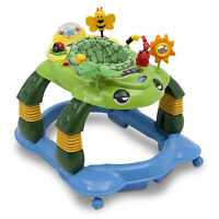 Delta Children Lil Play Station Mason the Turtle 3-in-1 Infant Activity Walker