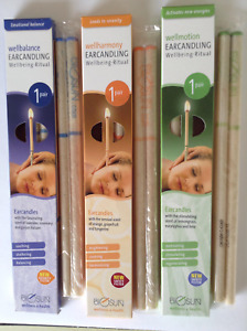 BIOSUN AROMA EAR CANDLES - Three Pairs, Made in Germany