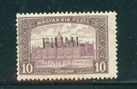Stamp Italy FIUME MI25, 1918, mint hinged, combine shipping 1271