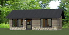 30x24 House -- 1 Bedroom 1 Bath -- 720 sq ft -- PDF Floor Plan -- Model 2L