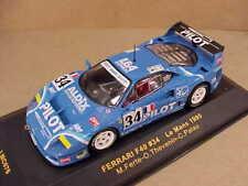 IXO #LMC076 1/43 Diecast Ferrari F40, 1995 LeMans, Pilot Aldex Racing #34