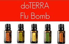 The FLU BOMB doTERRA Essential Oil Blend 10ml New Sealed