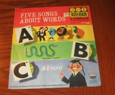 Rare Golden Records Five Songs about Words 45 RPM 1962