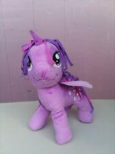 "My Little Pony 11"" Twilight Sparkle Unicorn Plush Purple Talking / Singing 2013"
