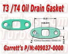 Two Oil Drain/Return Gaskets fits: T3, T4, T04E, GT32, GT37, GT40, GT42, GT45
