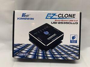 KINGWIN USI-2535CLU3 EZ-CLONE USB 3.0 TO SATA/SSD & IDE HDD CLONE ADAPTER L@@K