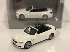 Minichamps 870027231 BMW M4 Cabrio 2015 White 1:87 Scale