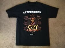 Ozzy Osbourne Men's Size Large L 2017 Aftershock Music Festival Tee T-Shirt!