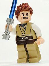 LEGO STAR WARS JEDI CUSTOM MINFIG BROWN HAIR 100%NEW LEGO PARTS JEDI KNIGHT MALE