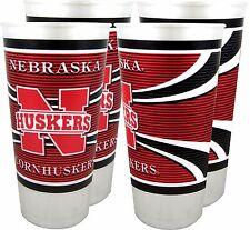Nebraska Cornhuskers 24 oz. Souvenir Cups (4 per set)