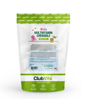 Kids Multivitamin Chewable Raspberry Tablets | 90 Sugar Free Tablets