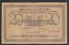 A708 Poland Polonia 20 marek 1919