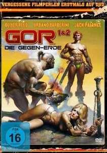 Gor 1+2 Die Gegen-Erde 80er Fantasy Oliver Reed DVD Deathstalker Warrior Queen