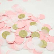 4000pcs Gold Glitter Pink Wedding Paper Confetti Table Decoration Bridal Shower