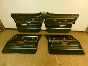 DOOR PANELS - SET OF 4 FROM 1971 ELECTRA . FIT 1971-1976 GM FULL SIZE 71BE1-1G7