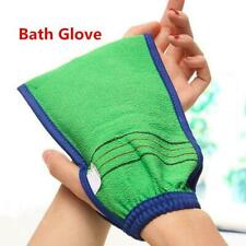 Exfoliating Body Scrub Gloves Shower Bath Mitt Loofah Sponge Massage Skin Spa s