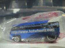 HOT WHEELS 1996 HOT WHEELS INTERNET.COM BLUE VW DRAG BUS MINT SEALED IN BAG