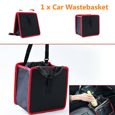 Universal Car Basket Trash Bag Garbage Leak Proof Bin Wastebasket Container Box