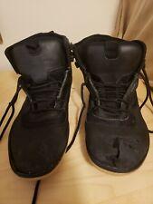 Vivo Barefoot Terra Plana Black High Top Minimalist Shoes Sz EU 45 HEAVY WEAR