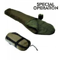 Sacco A Pelo Militare Termico Verde -10°C MILITARY 5 MICRO