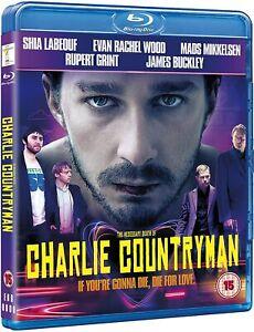 The Necessary Death of Charlie Countryman Blu-Ray 2015 Shia LaBeouf, Bond NEW