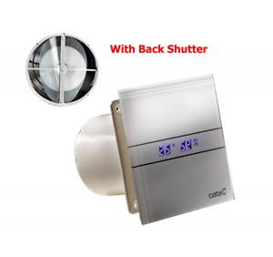 Ventilator Lüfter CATA E-100 GTH incl. Rückschlagklappe !!! Timer Nachlauf Feuch