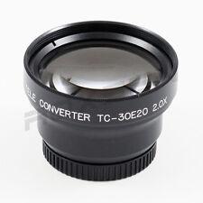 30mm 2x 2.0x Tele Conversion Lens for Canon Sony Nikon Panasonic DSLR Camcorder
