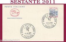 ITALIA FDC IL CAVALLINO LUDOVICO ARIOSTO 1974 ANNULLO GENOVA H125