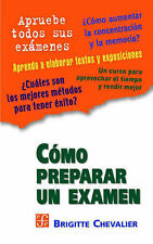 NEW Cómo preparar un examen (Spanish Edition) by Chevalier Brigitte