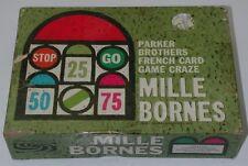 Mille Bornes Complete 1962 Parker Brothers