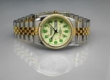 Swanson Japan Men's Wrist Watch, Glow in the Dark Dial, Analog, Day & Date 5ATM