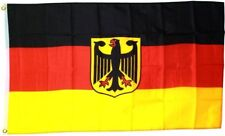 Germany German Deutschland Eagle Crest Sports Olympics Football Flag 5x3ft