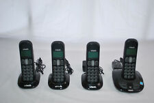VTech Cordless Phone 4 Handsets Black CS6199-4