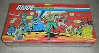 1984 GI Joe Cobra Collectors Carrying Case W/ Trays Holds 24 Figures Accessories