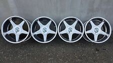 "Brock B1 17"" 8.5J/10J 5x112 & 5x120 OZ Futura AMG Mercedes BMW Chrome Bbs"