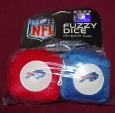 BUFFALO BILLS NFL FOOTBALL SPORTS TEAM FUZZY DICE