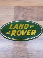 LAND ROVER GRILLE GRILL BADGE GREEN GOLD DISCOVERY FREELANDER DEFENDER LR002717