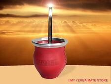 YERBA MATE KIT - Artisan Glass Vessel with Traditional Bombilla - Free Shipping
