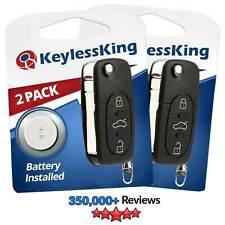 2 For 98 1999 2000 2001 Volkswagen Beetle Golf Jetta Passat Car Remote Key Fob