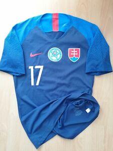 Hamsik #17 Slovakia National Team Player Issue Match Football Jersey M 2017 18