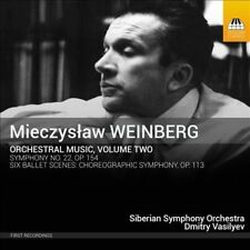 Weinberg: Orchestral Music, Vol. 2, New Music