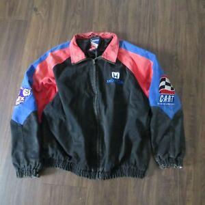 Vintage 1998 CART FedEx Championship Series Staff Jacket - Logo Athletic - Large